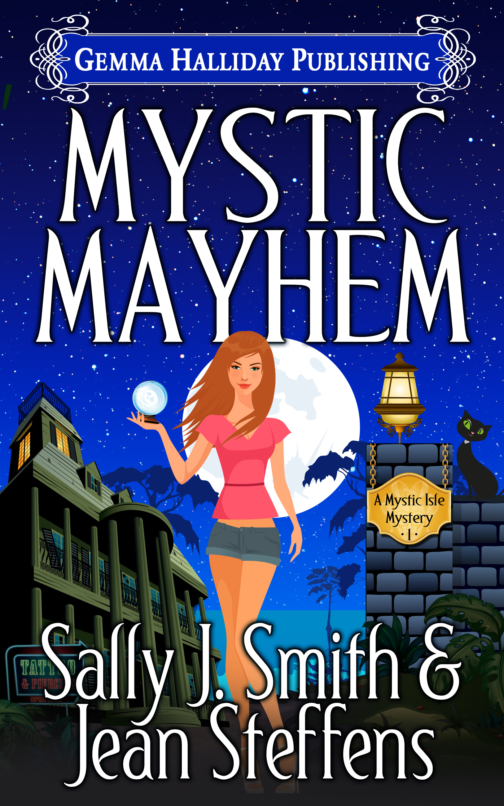 Mystic Mayhem (Mystic Isle Mysteries #1) Sally J. Smith