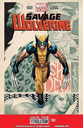 Savage Wolverine #2 Frank Cho