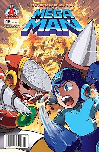 Mega Man #10  by  Ian Flynn