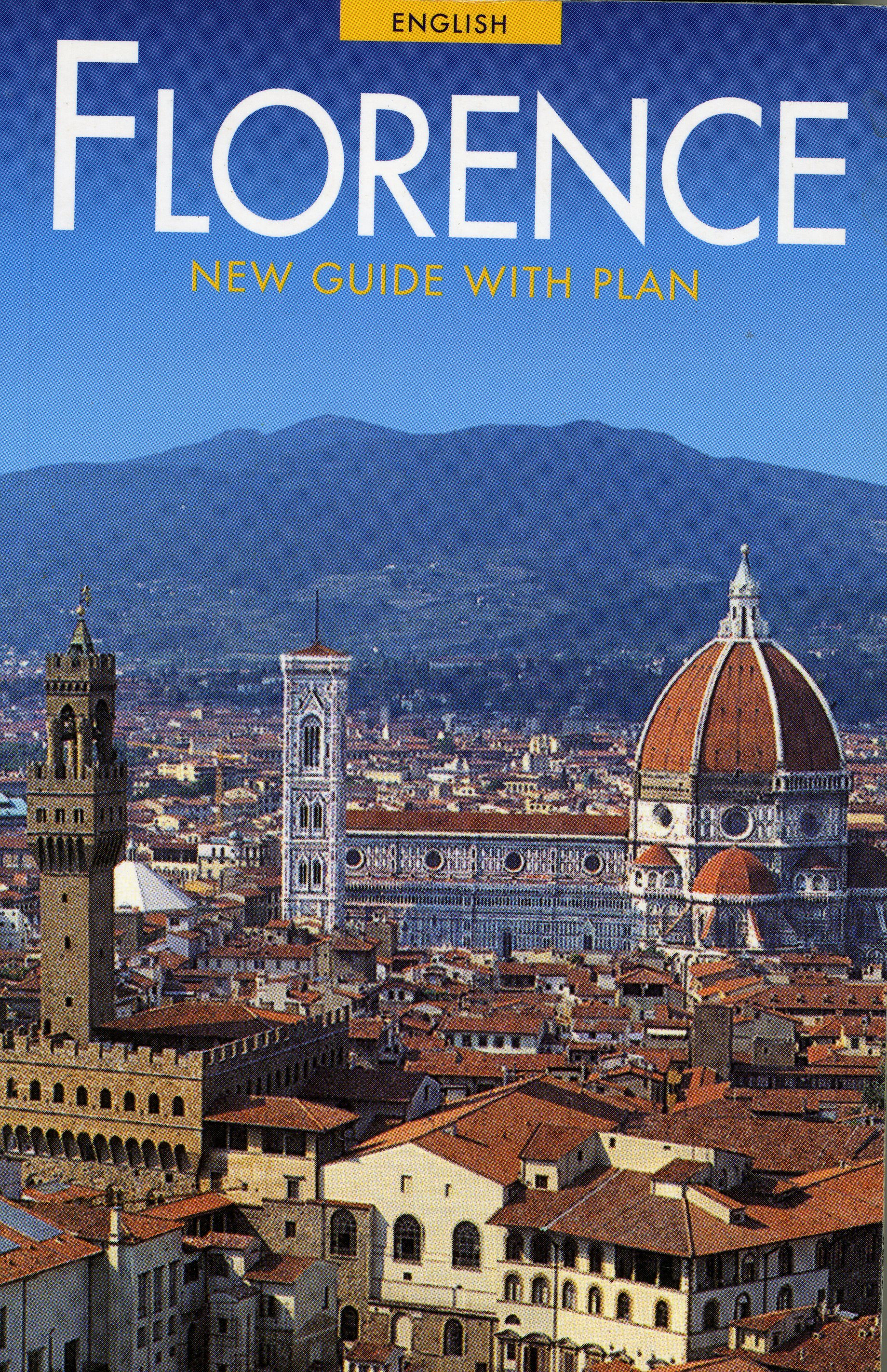 Florence:  New Guide With Plan Roberto Bartolini