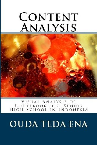 Content Analysis: Visual Analysis of E-textbook for High School in Indonesia Ouda Ena