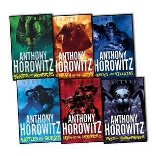 Legends Series 6 Books Collection Pack Set RRP: £31.94 Anthony Horowitz by Anthony Horowitz