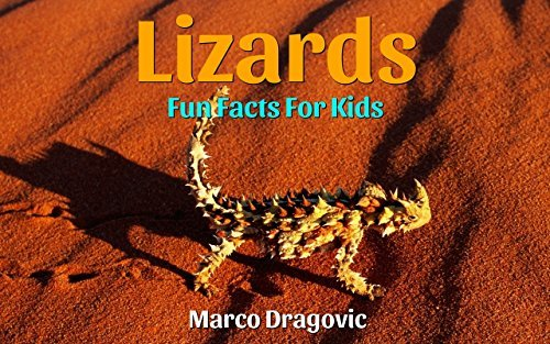 Lizards: Fun Facts For Kids, Picture Books For Kids  by  Marco Dragovic