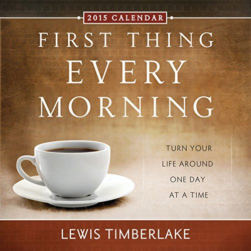 2015 First Thing Every Morning Boxed Calendar Lewis Timberlake