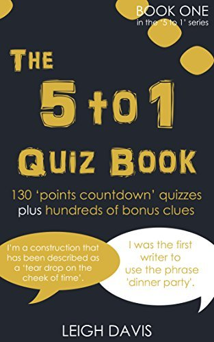 The 5 to 1 Quiz Book (The 5 to 1 Quiz Book Series) Leigh Davis