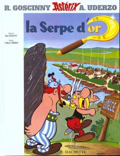 La serpe dor (Asterix, #2) René Goscinny