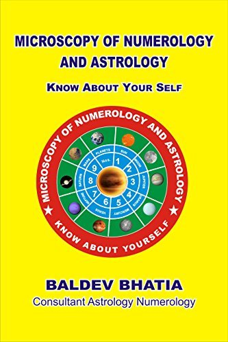 MICROSCOPY OF NUMEROLOGY AND ASTROLOGY: AN ART OF KNOWING YOURSELF BALDEV BHATIIA