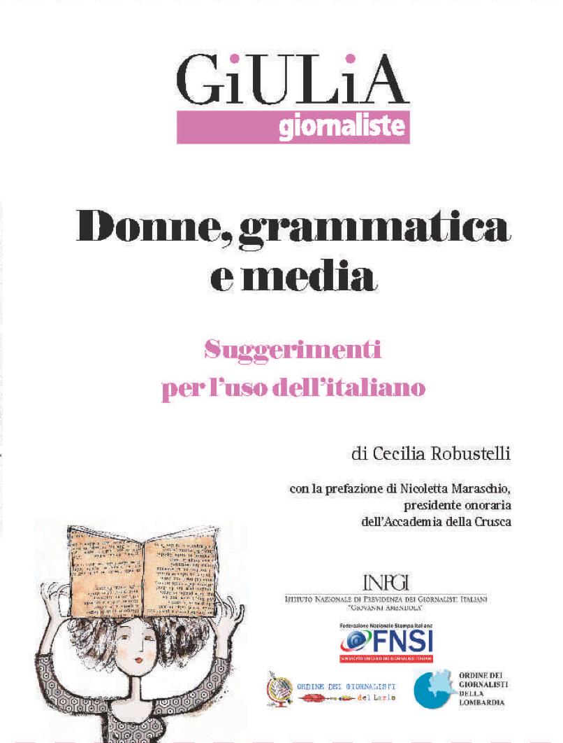 Donne, grammatica e media  by  Cecilia Robustelli