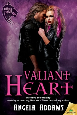 Valiant Heart (The Order of the Wolf, #6) Angela Addams