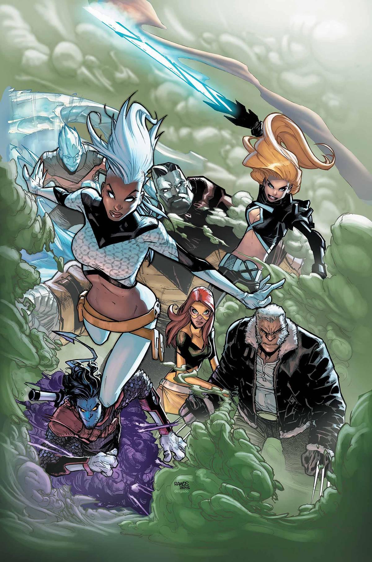 Extraordinary X-Men #1 Jeff Lemire