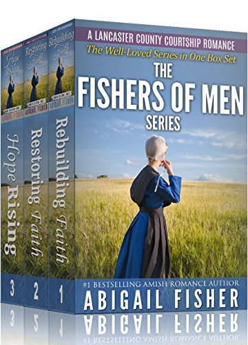 Amish Romance: FISHERS OF MEN Series: COMPLETE BOX SET: (Amish, Amish Romance Books, Amish Fiction, Amish Books, Amish Fiction Books, Romance Novels) (A Lancaster County Courtship Romance)  by  Abigail Fisher