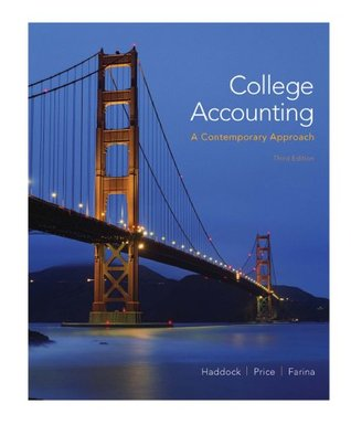 College Accounting M. David Haddock