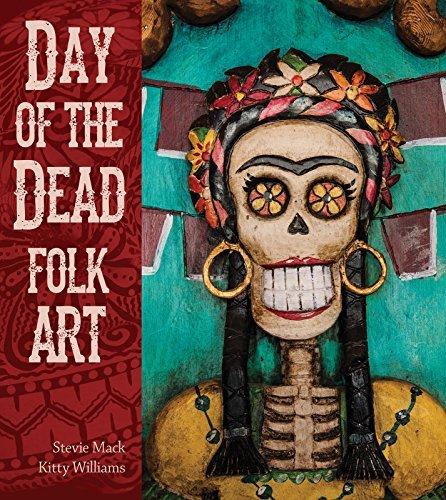 Day of the Dead Folk Art  by  Stevie Mack