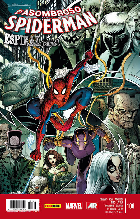 El asombroso Spider-Man 106: Espiral (Asombroso Spiderman, #106)  by  Gerry Conway