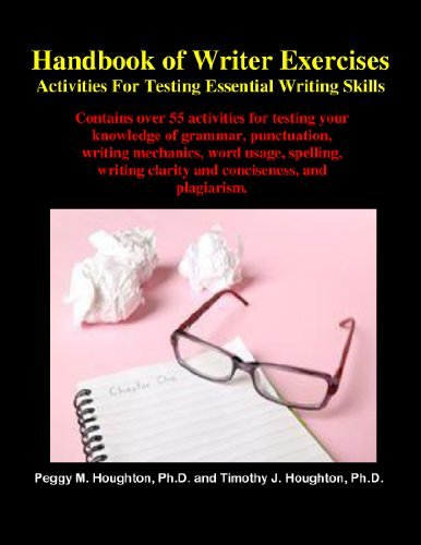 Handbook of Writer Exercises: Activities For Testing Essential Writing Skills Peggy M. Houghton