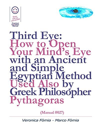 Third Eye: How to Open Your Minds Eye With an Ancient and Simple Egyptian Method Used Also  by  Greek Philosopher Pythagoras (Manual #027) by Marco Fòmia And Veronica Fòmia