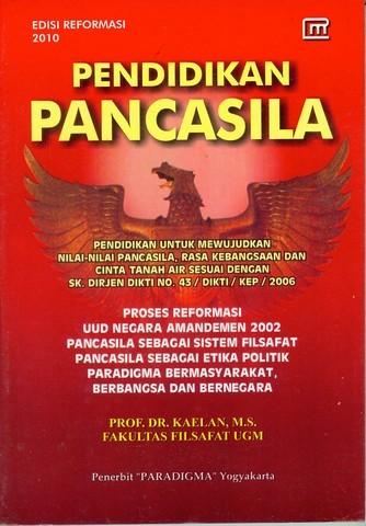 Pendidikan Pancasila  by  Prof. DR. Kaelan, M.S.