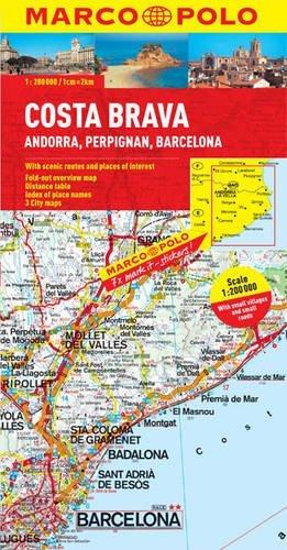 Costa Brava/Andorra/Perpignan/Barcelona  by  Marco Polo Travel Publishing Ltd