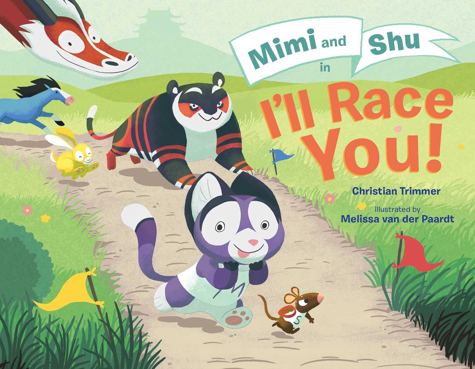 Mimi and Shu in Ill Race You!  by  Christian Trimmer