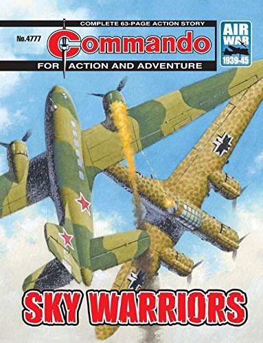 Commando #4777: Sky Warriors Alan Hebden