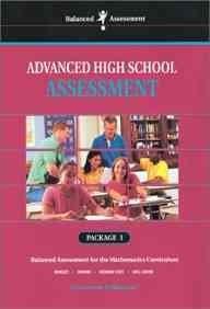 33010 Balanced Assessment: Advanced High School Assessment Package 2  by  Toni-Ann Guadagnoli