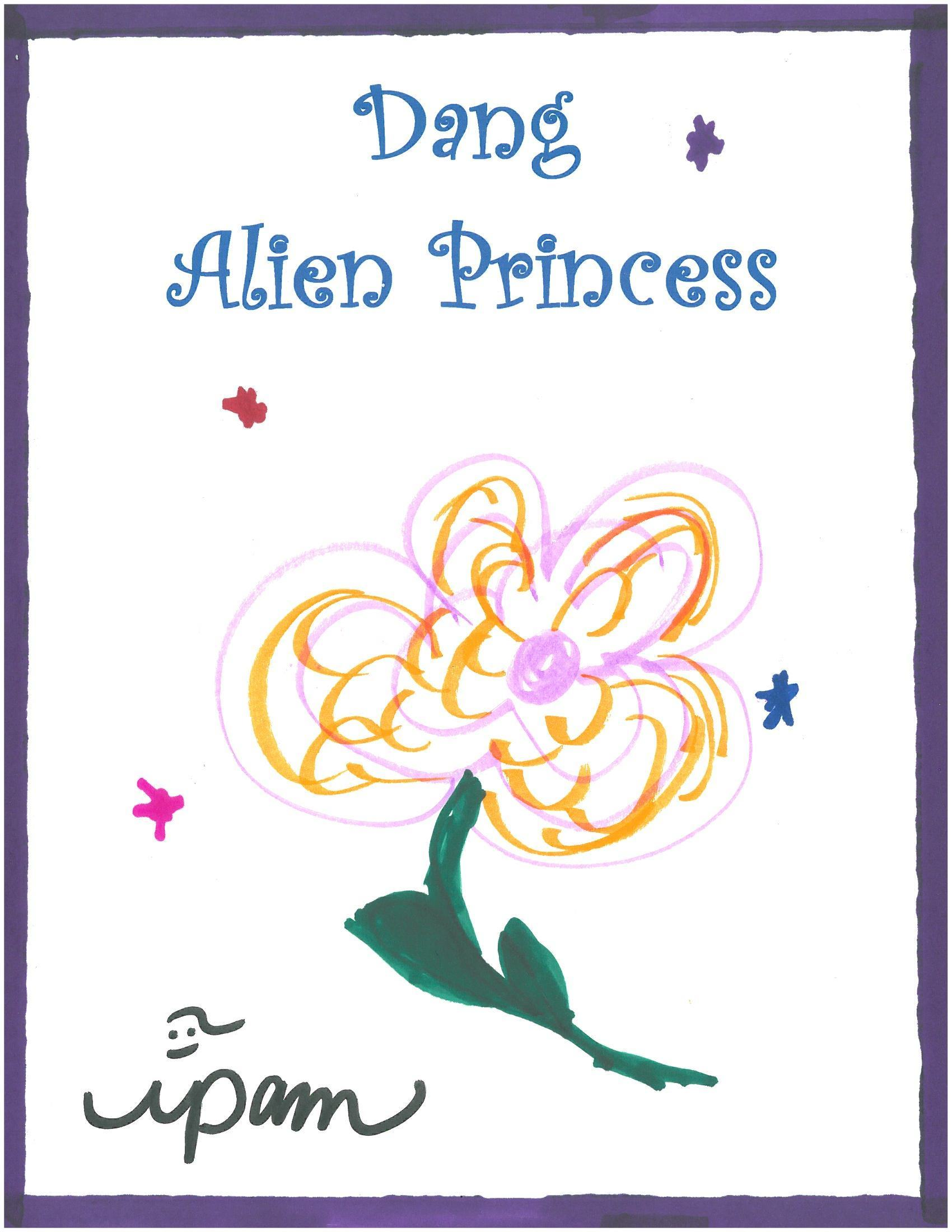 Dang Alien Princess  by  ipam