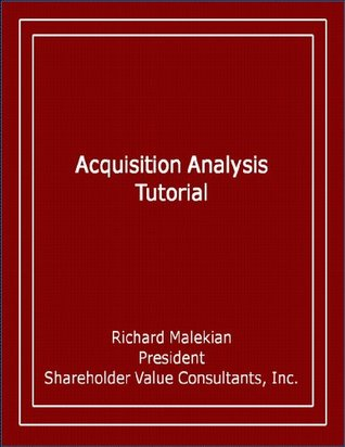Free Cash Flow: The Key to Shareholder Value Creation Richard Malekian