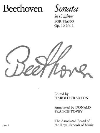 BEETHOVEN Piano Sonata in C Minor, Op. 10 No. 1: No. 5  by  Ludwig van Beethoven