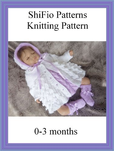 Knitting Pattern - KP138 - Dress and Jacket Baby  by  ShiFios Patterns