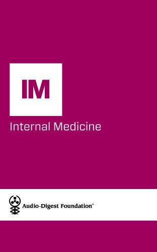 Internal Medicine: Statin Therapy for Reducing Atherosclerotic Risk/Prostate Cancer Update (Audio-Digest Foundation Internal Medicine Continuing Medical Education (CME). Volume 61, Issue 39)  by  Audio Digest