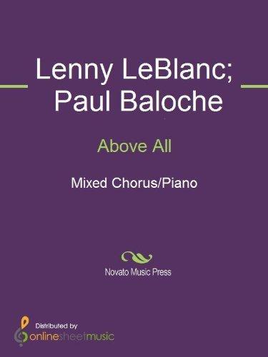Above All  by  Lenny LeBlanc