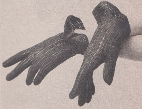 Cotton Gloves Crochet Pattern  by  Charlie Cat Patterns