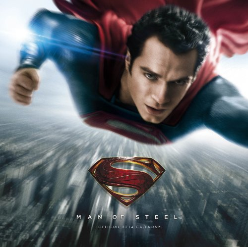SUPERMAN: MAN OF STEEL 2014 CALENDAR (Calendars 2014)  by  Danilo
