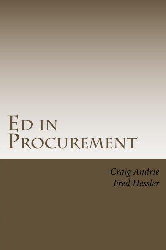 Ed in Procurement Craig Andrie
