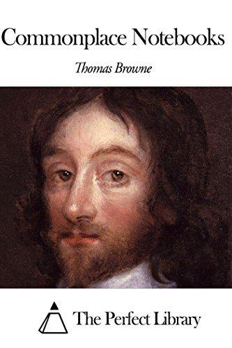 Commonplace Notebooks Thomas Browne