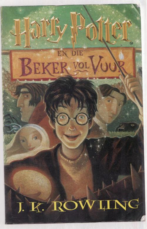 Harry Potter En Die Beker Vol Vuur (Harry Potter, #4)  by  J.K. Rowling