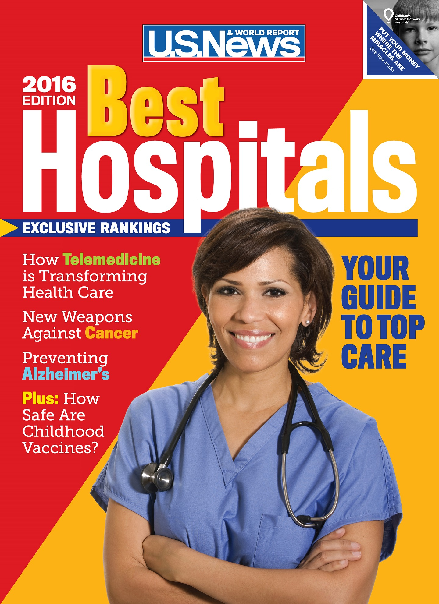 Best Hospitals 2016  by  U.S. News and World Report