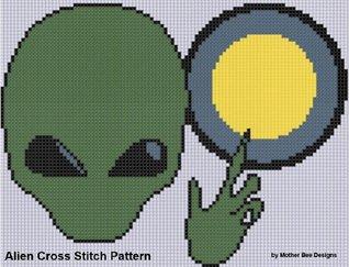 Alien Cross Stitch Pattern Mother Bee Designs