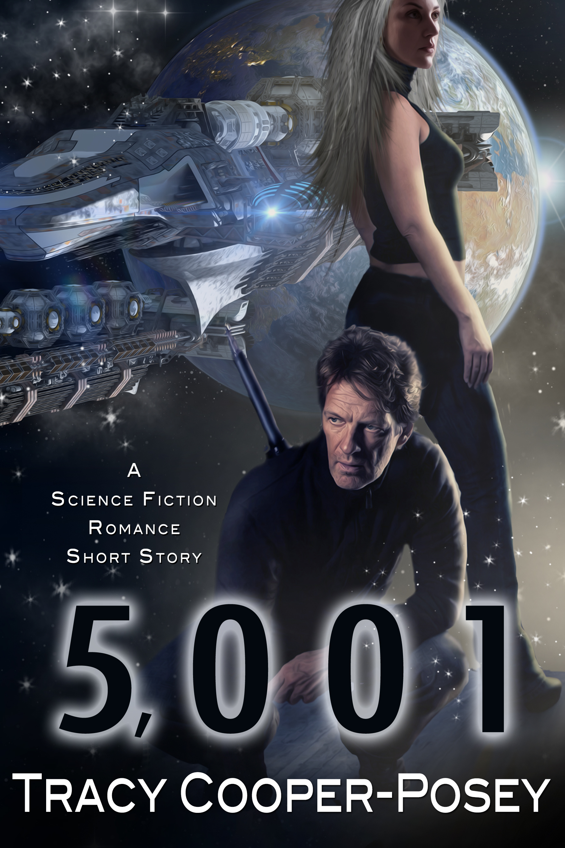 5,001: A Science Fiction Romance Short Story  by  Tracy Cooper-Posey