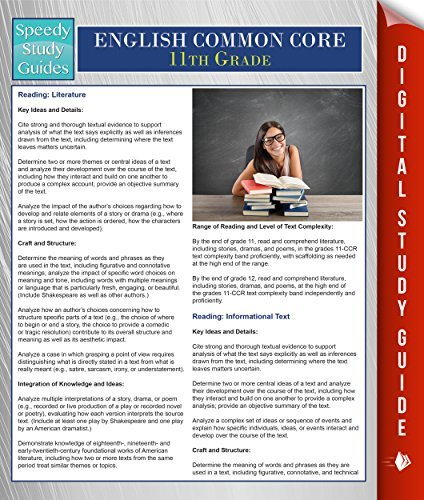 English Common Core 11th Grade  by  Speedy Publishing