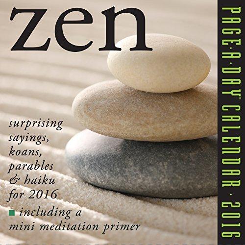 NOT A BOOK Zen Page-A-Day Calendar 2016 NOT A BOOK