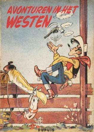 Avonturen in het westen (Lucky Luke, #4)  by  Morris