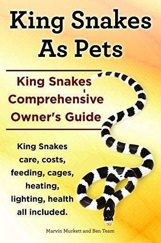 King Snakes As Pets. King Snakes Owners Guide. King Snakes care, feeding, costs, cages, heating, lighting, health all included. Marvin Murkett