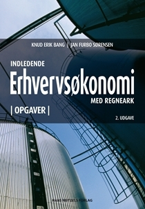 Indledende erhvervsøkonomi med regneark  by  Knud Erik Bang