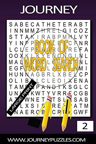 Journey Large Print Word Search Book 2 Gregory Dehaney