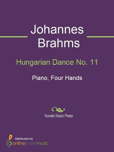 Hungarian Dance No. 11 Johannes Brahms