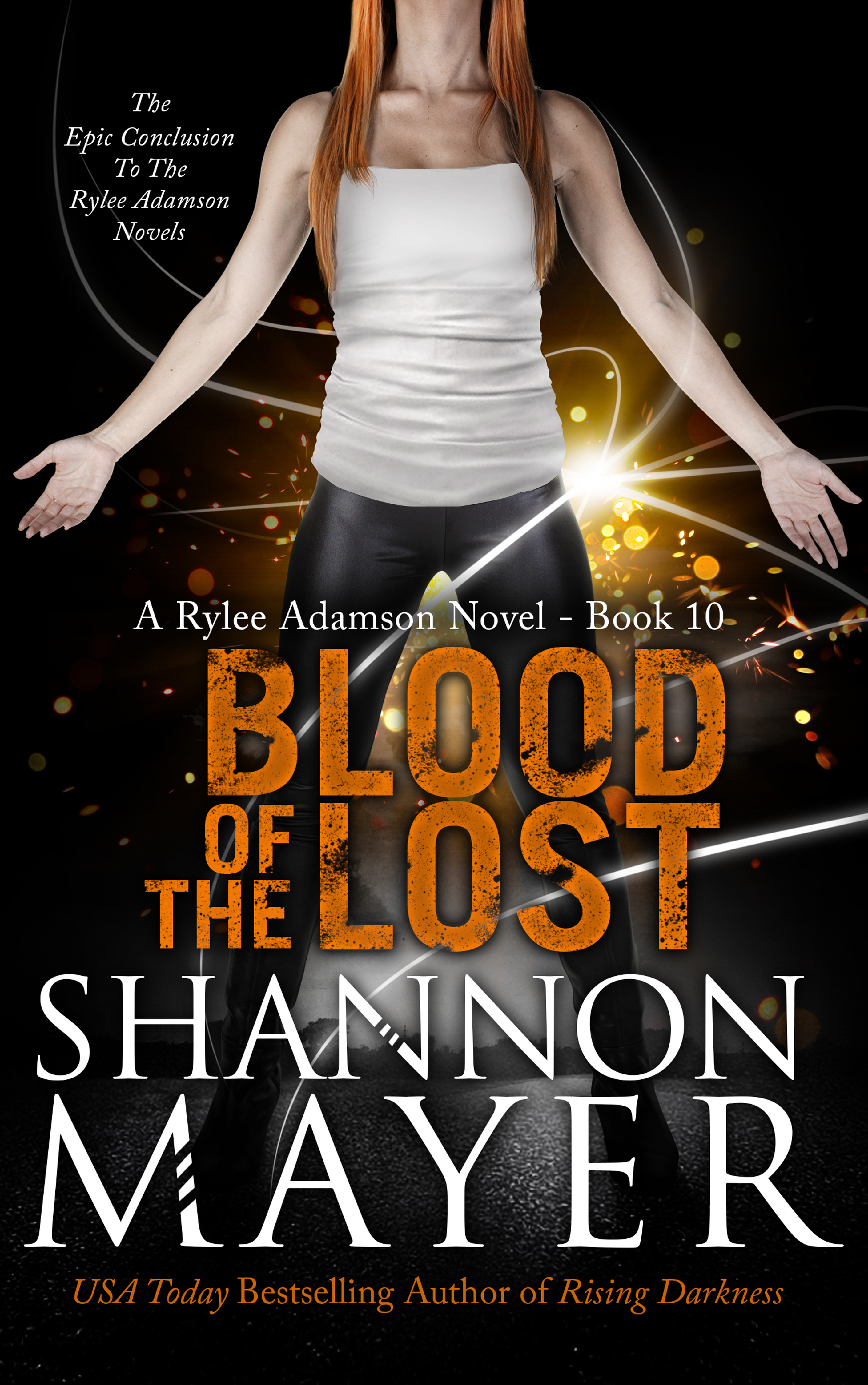 Blood of the Lost (Rylee Adamson #10)  by  Shannon Mayer