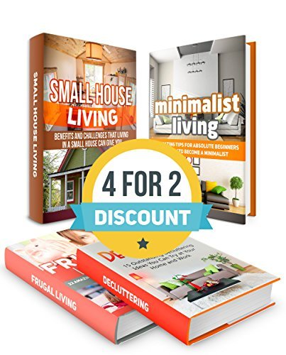 Frugal Living And Decluttering Box Set: 40 Amazing Tips On Frugal And Minimalist Living, 5 Benefits and Challenges Of Small House Living And 15 Outstanding ... Tiny House Living, Minimalist Living)  by  Johnny Byrd