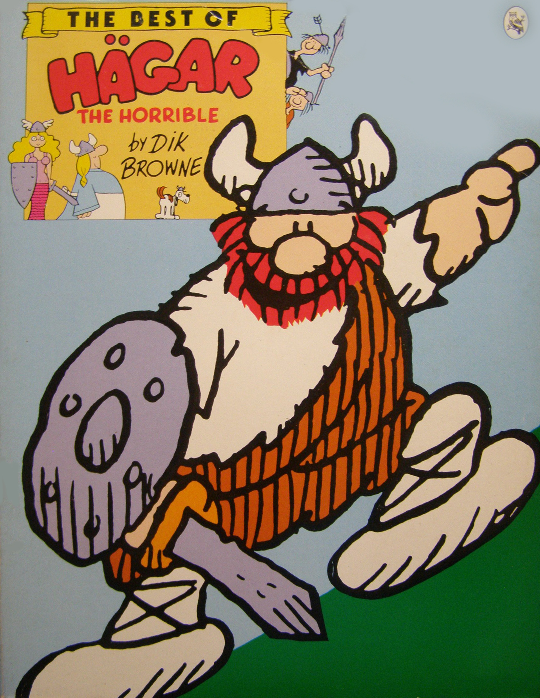 The Best of Hagar the Horrible  by  Dik Browne