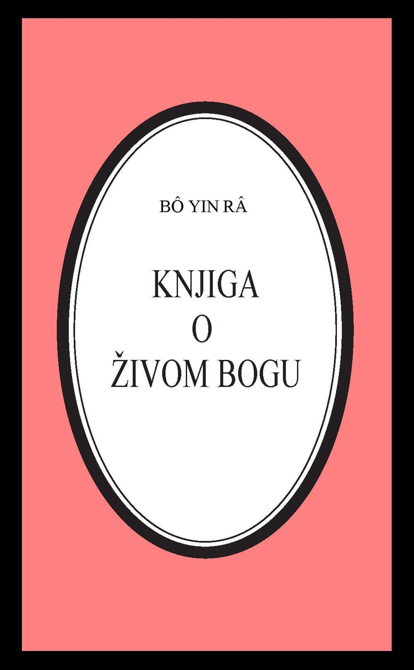 Knjiga o živom Bogu Bô Yin Râ